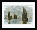 Aberdeen the Herring Fleet 1885 UK by Anonymous