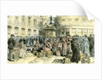 Aberdeen Butter Fair at the Mannie on the Green 1885 UK by Anonymous