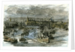 Aberdeen Victoria Docks the Port 1885 UK by Anonymous
