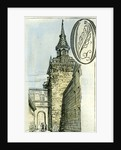 Aberdeen 1885 UKthe Old Tolbooth Tower by Anonymous