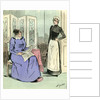 Domestic Servant 1891 Paris France by Anonymous