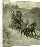 1891 Entering the Yosemite Valley USA by Anonymous
