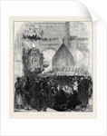 Spain: The Archbishop of Granada Denouncing the Republic 1873 by Anonymous