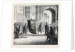 Spain: The Holy Week in Seville: The Cardinal Returning to His Palace 1873 by Anonymous