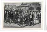 Queen Elizabeth's Visit to Hunsdon House by Anonymous