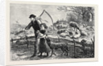 The Foster Lamb 1873 by Anonymous