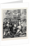 The Carnival in Rome: Prince Arthur Beset by Masquers 1873 by Anonymous