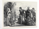 Scene from Old Soldiers at the Strand Theatre 1873 by Anonymous