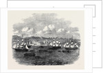Embarkation of the 13th or Prince Albert's Light Infantry at Port Elizabeth Algoa Bay by Anonymous