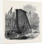 Large New Caisson for the East and West India Dock Company by Anonymous
