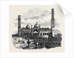 Part of the Imaum Bala Lucknow by Anonymous