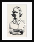 Alfred Tennyson the Poet Laureate Bust in Marble by Anonymous