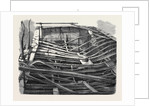 The after-Part of the Sarah Sands (Iron-Built Steamer) which Was Partially Destroyed by Fire in November 1857 by Anonymous