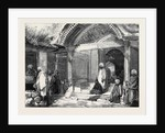 Entrance to a Mosque Islamabad Cashmere from a Drawing by Mr. W. Carpenter Jun. by Anonymous
