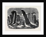 Stonehenge by Moonlight from the New Drama the Borgia Ring at the Adelphi Theatre by Anonymous