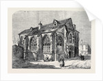 Paris Demolitions: Ancient Church of St. John Lateran by Anonymous