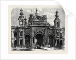 Gate of the Kaiserbagh at Lucknow by Anonymous
