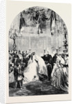 Baptism of the Infant Prince Frederick William Victor Albert at Berlin on the 5th Inst. by Anonymous