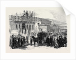 Arrival of Neapolitan Exiles at Paddington Station London by Anonymous