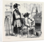 Fixing Hair a La Teapot China by Anonymous