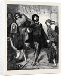 Beggars at a Church Door at Rome, at the Exhibition of the Institution of Fine Arts by Anonymous