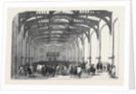 Interior of the Sleaford Corn Exchange Lincolnshire by Anonymous