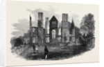 Ruins of King's Newton Hall Near Melbourne Derbyshire Destroyed by Fire on the 17th Inst. by Anonymous