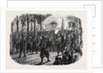 Zouaves Quitting Versailles by Torchlight by Anonymous