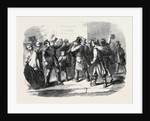The War in Italy Reading the Emperor Napoleon's Proclamation a Street Scene in Paris by Anonymous