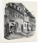 Birthplace of Handel at Halle Saxony from a Photograph by Mr. C. Klingemann by Anonymous