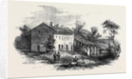 The War in Italy Austrian Post Near the Railway Bridge at Valenza from a Sketch by M. Beauce by Anonymous
