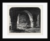 Arch in the Old Fort Calcutta India 1869 by Anonymous