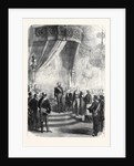 New Year's Day at the Tuileries: The Papal Nuncio Congratulating the Emperor France 1869 by Anonymous
