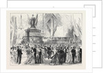 New Year's Eve Ball on Board H.M.S. Caledonia at Malta 1869 by Anonymous