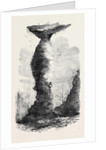 The Jug Rock in Southern Indiana 1869 by Anonymous