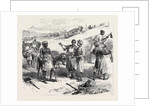 The Isthmus of Suez Maritime Canal: Labourers Removing Earth 1869 by Anonymous