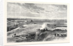 The Isthmus of Suez Maritime Canal: Lake Timsah 1869 by Anonymous