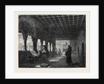 Monks Illuminating in a Convent at Valladolid Spain, in the General Exhibition of Water Colour Drawings 1869 by Anonymous