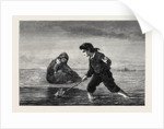 Children of the Sea, in the General Exhibition of Water Colour Drawings 1869 by Anonymous