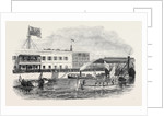 Visit of the Prince and Princess of Wales to the Suez Canal Works: Arrival of the Prince and Princess at Suez 1869 by Anonymous
