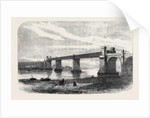Railway Bridge and Viaduct at Runcorn UK 1869 by Anonymous