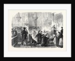 Grand Mass in the Chapel of the Tuileries Paris France 1869 by Anonymous