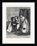 Persuading Papa, in the Exhibition at the Gallery 7 Haymarket 1869 UK by Anonymous