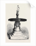 Fountain with Statuette of Bacchus. by Anonymous