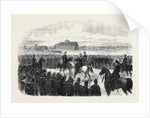 Inspection of the Essex Rifles (Militia) at Colchester UK 1869 by Anonymous