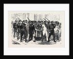The Elections in France: Removal of the Voting-Urn from a District Polling-Place to the Mairie 1869 by Anonymous