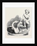 Child and Swan (Sculpture), in the Royal Academy Exhibition 1869 by Anonymous