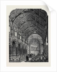 The Chapel of King's College Strand London UK 1869 by Anonymous