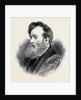 The Late Mr. Henry Warren Honorary President of the Institute of Painters in Water Colours 1880 by Anonymous