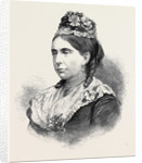 Her Grace the Duchess of Marlborough 1880 by Anonymous